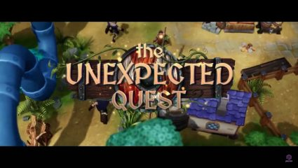 The Unexpected Quest Is A Unique Strategy And Medieval Management Game Headed For Steam Later This Year