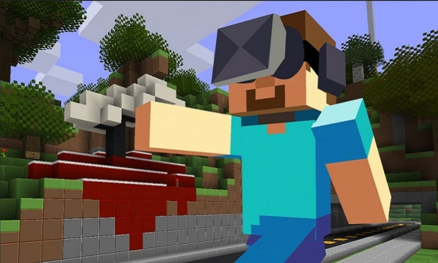 Minecraft VR, Which Is Only On PCs, Was Running On The Oculus Quest Stated John Carmack