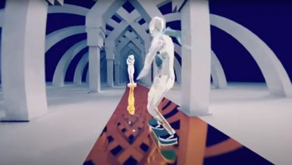 Skate Story Is An Upcoming Skate Game With Surreal Graphics And Technical Controls
