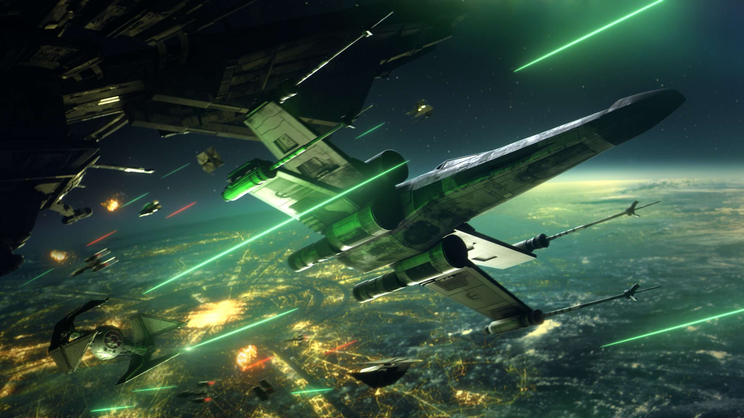 EA to Launch Star Wars: Squadrons in Early October