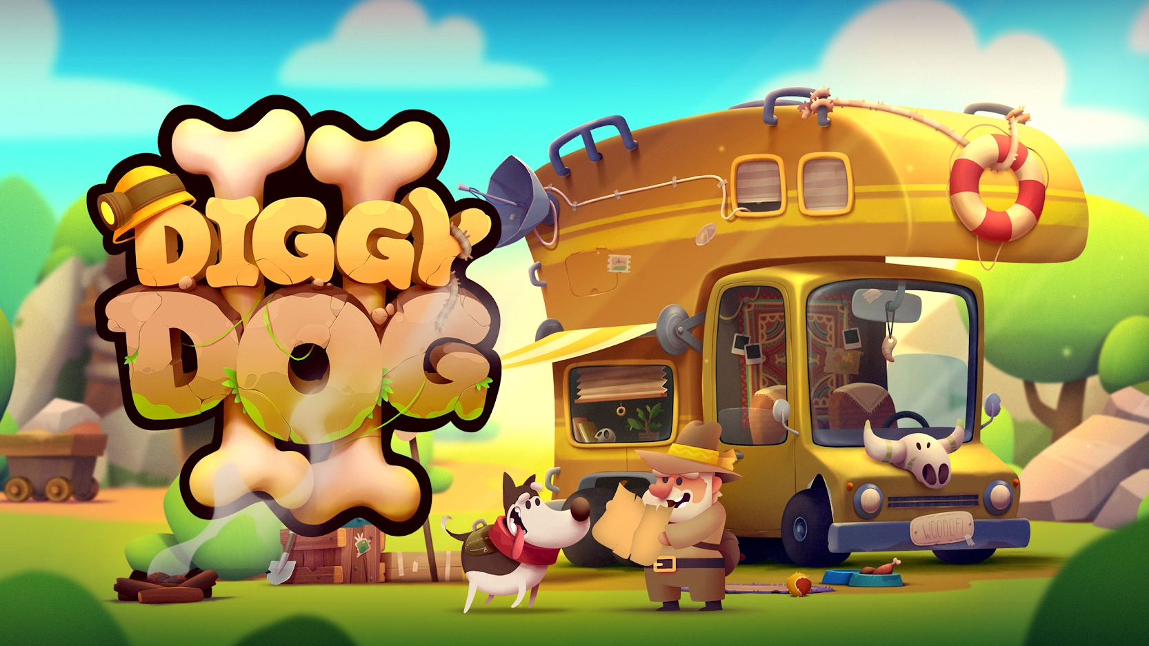 King Bird Games' My Diggy Dog 2 Launches On Steam Early Access This August