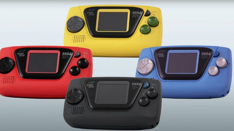Sega Announces Four Versions Of Game Gear Micro Handhelds Will Be Released In Japan This October