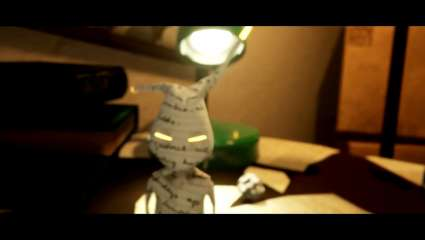 A Tale of Paper Is A PlayStation 4 Exclusive That Revolves Around A Strange Origami Character Exploring A Platforming Adventure