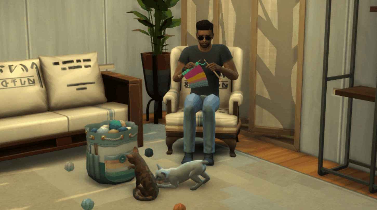 More Information Revealed For Upcoming Nifty Knitting The Sims 4 Stuff Pack