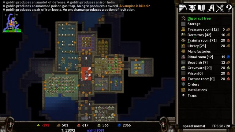 KeeperRL Has Just Released An Alpha Build, Explore A Unique Dungeon Simulation RPG Roguelike Adventure