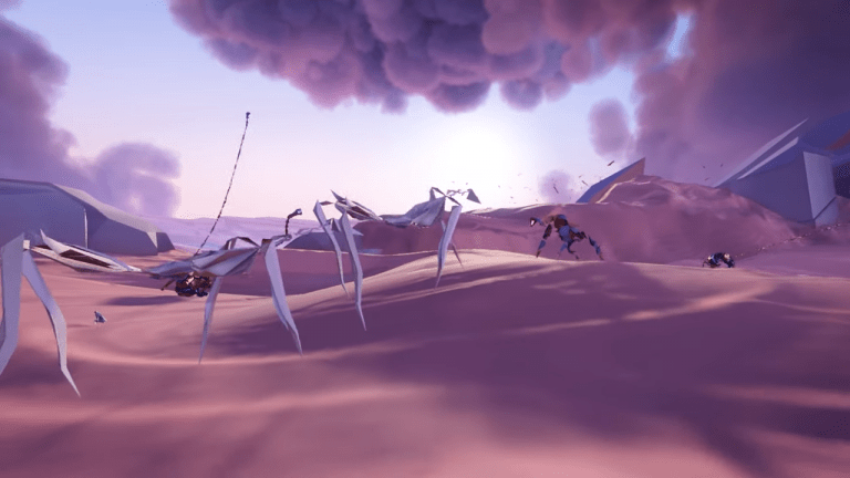 What Is Paper Beast? A VR Game Where You Explore A World Of Dali Strangeness Comes To PC