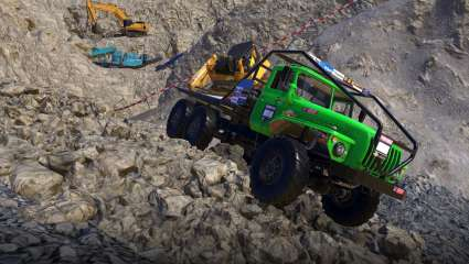 Motorsport Game Heavy Duty Challenge Drives Onto Steam In Late 2021