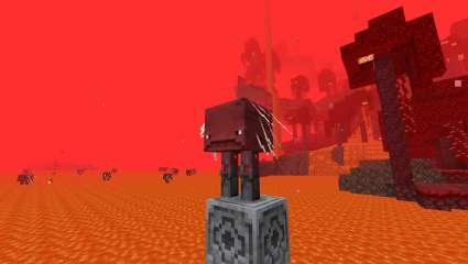 How To Ride The Strider - New Mob Added In The Nether Update For Minecraft