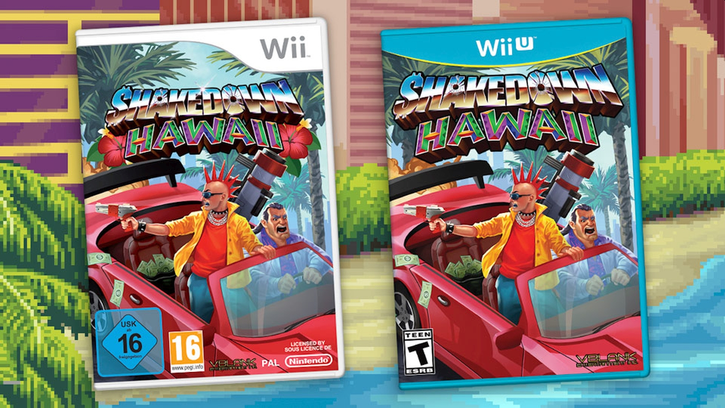 VBlank Games Announces Wii And WiiU Ports For Shakedown Hawaii