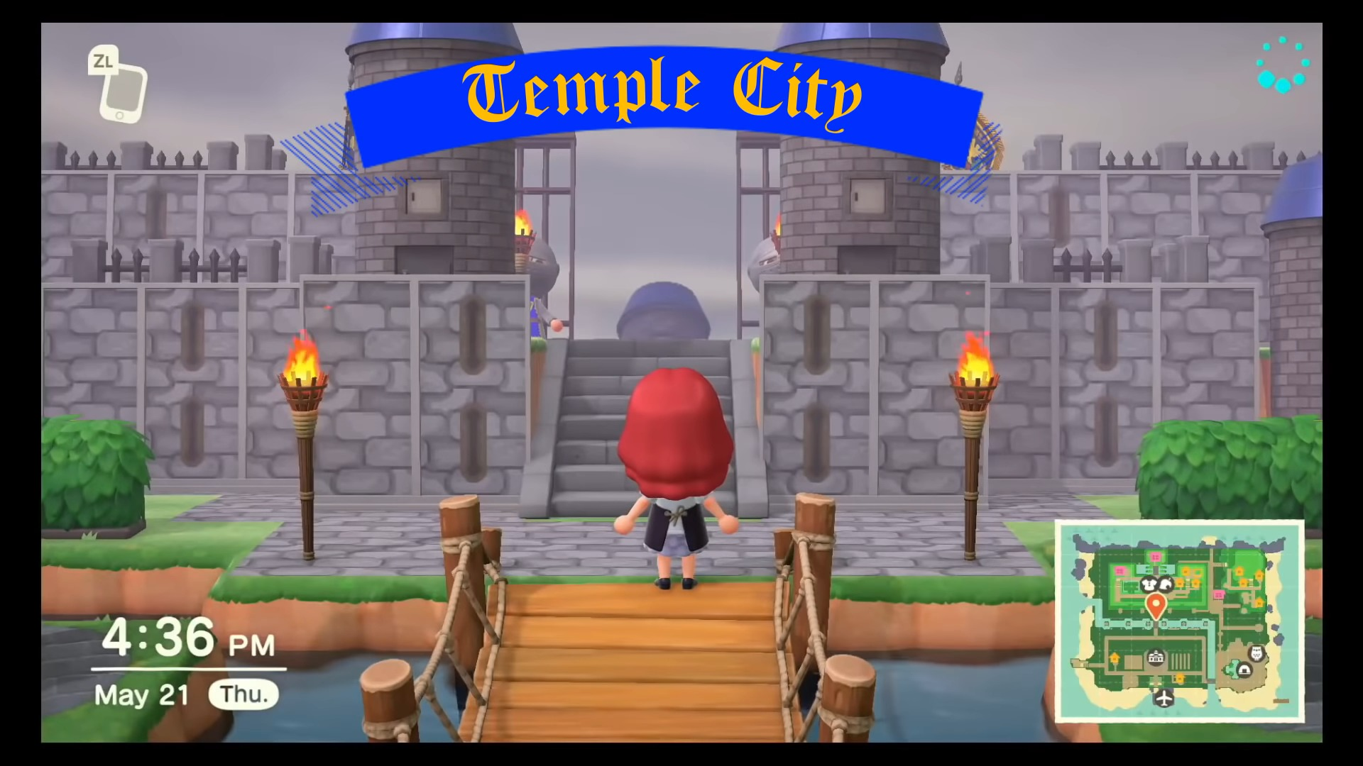 Animal Crossing New Horizons Epic Fantasy Medieval Island Tour