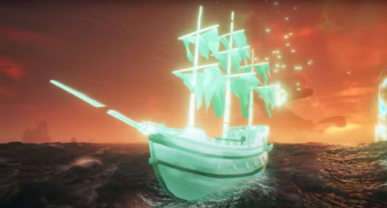 The Haunted Shores Update Is Now Live In Sea Of Thieves And Includes Ghost Ships