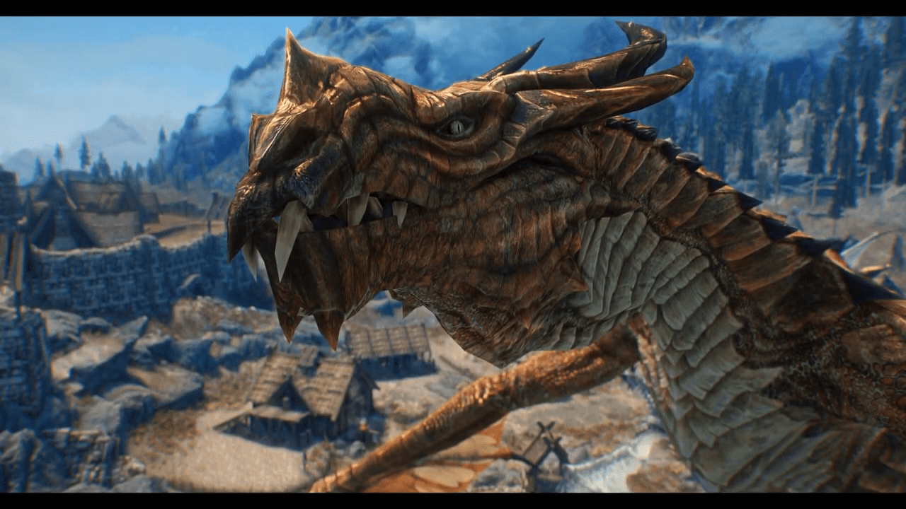 Elder Scrolls 5 Skyrim Special Edition Weekly Mod Showcase 6/12- Beautiful Dragons And A Castle Player Home