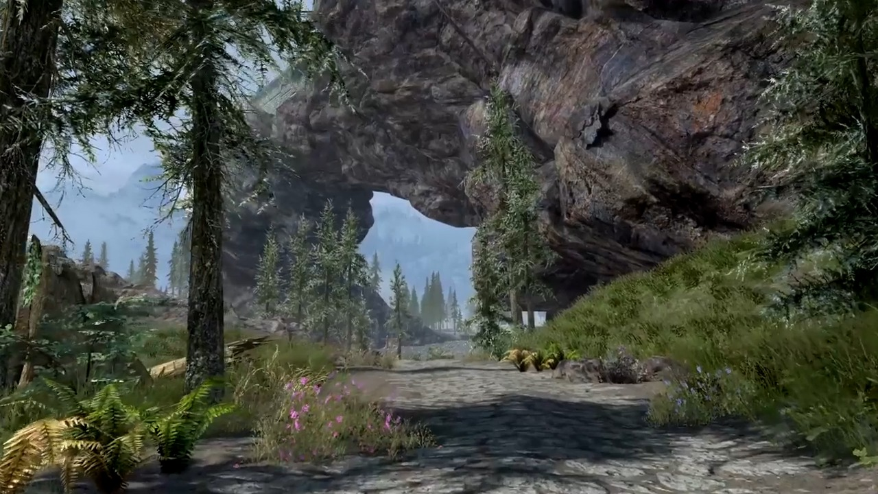 Elder Scrolls 5 Skyrim Special Edition Weekly Mod Showcase 6/26 Features Majestic Mountains