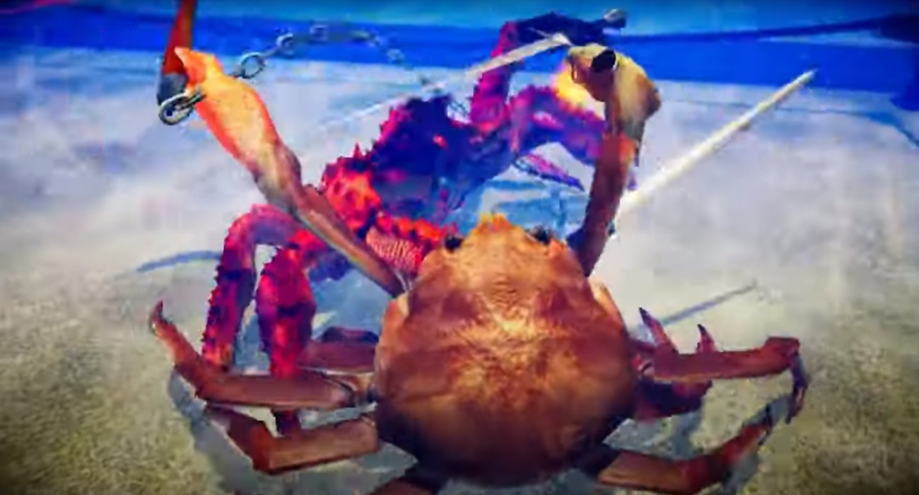 The 3-D Fighting Game Fight Crab Will Be Available July 30