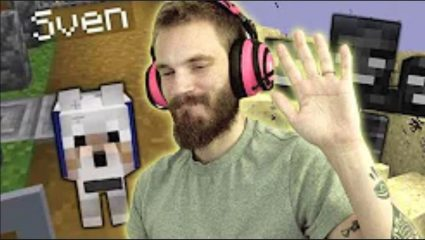 Popular YouTuber PewDiePie Responds To The Uproar About The End Of His Minecraft Series