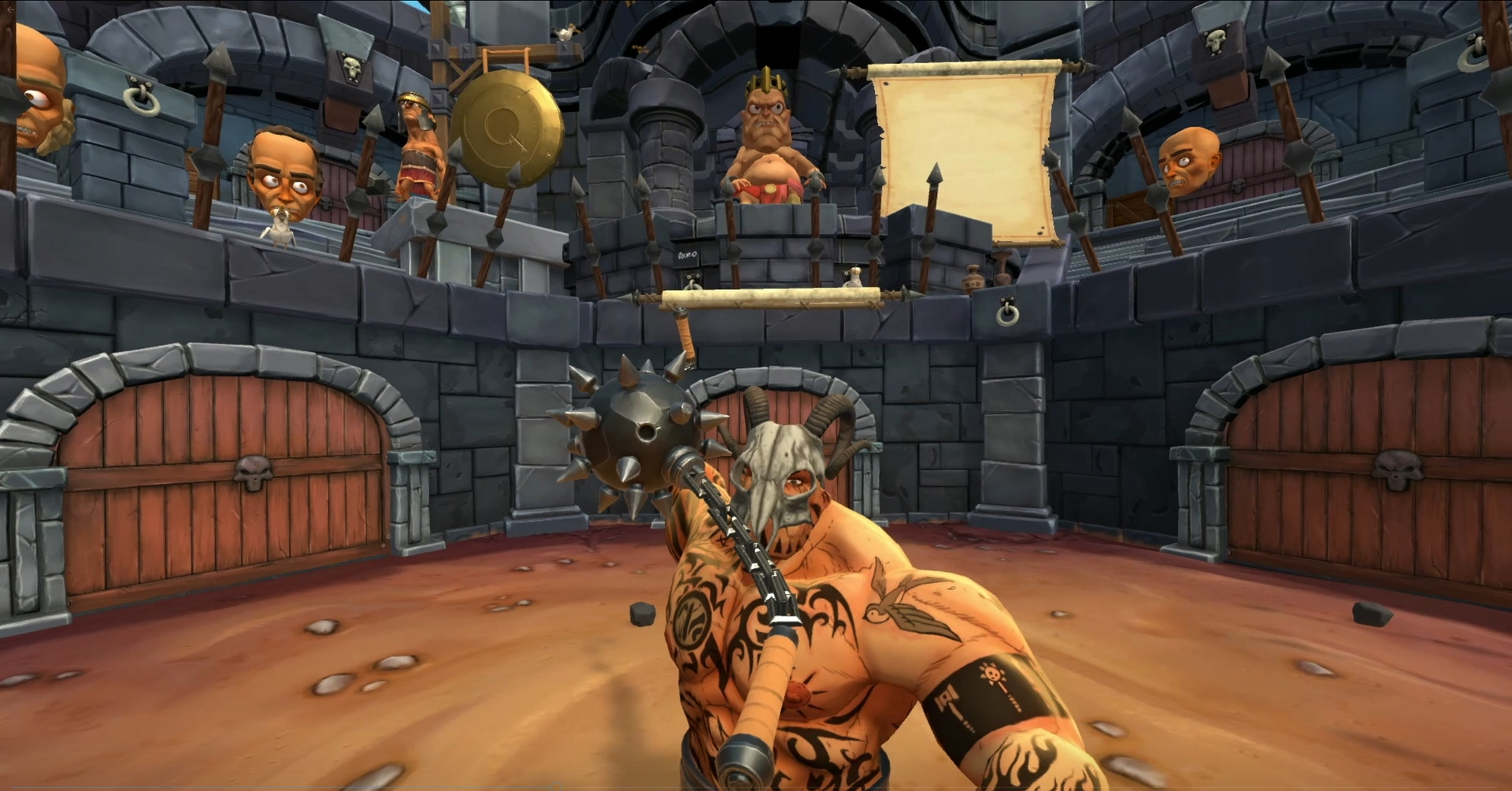 Free Lives' Gladiator VR Sim Gorn Now Available On PlayStation VR