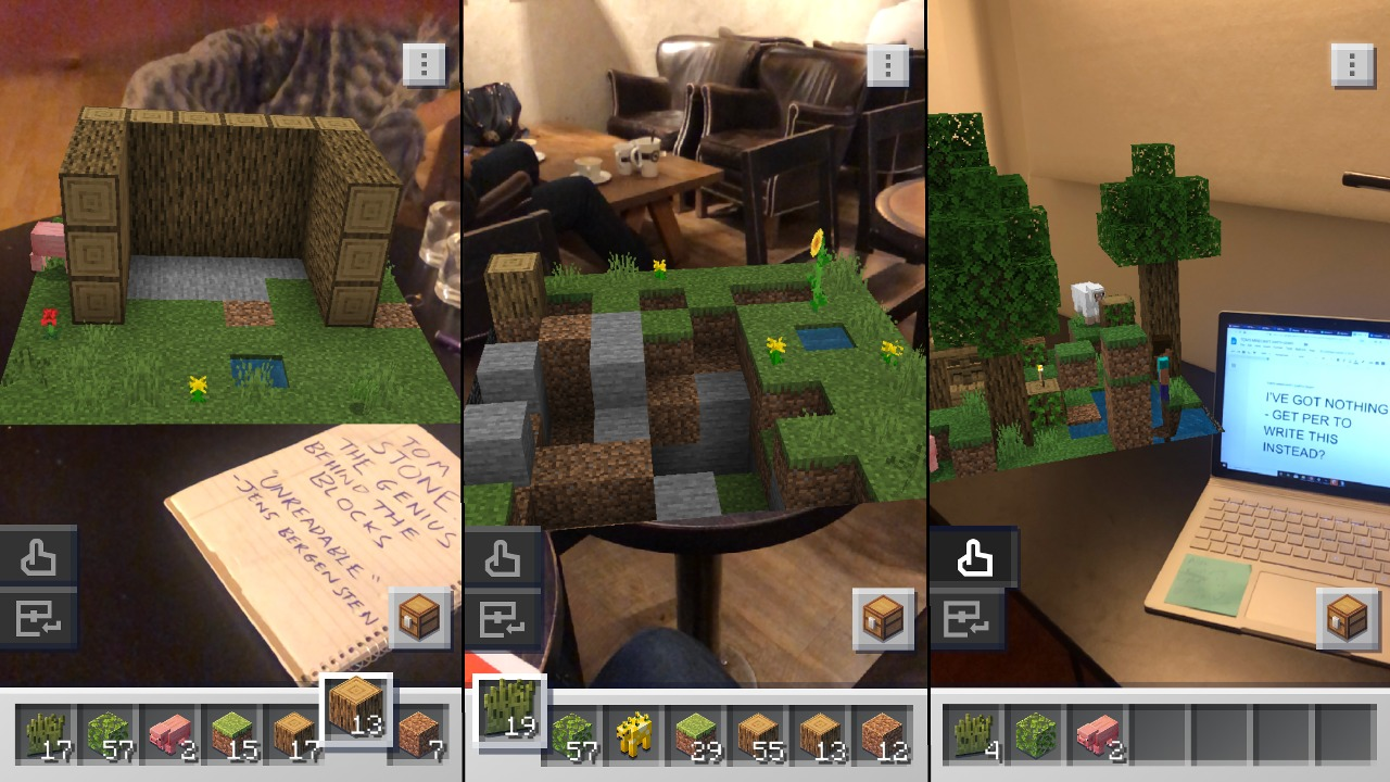 How The Mobile Game, Minecraft Earth, Mobs Differ From The Standard Minecraft Experience!
