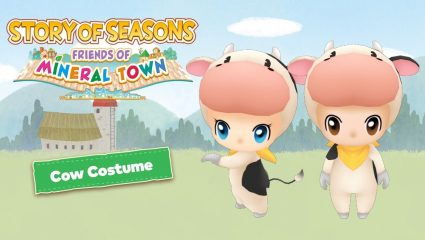 Story of Seasons: Friends Of Mineral Town Digital Preorder Now Available With Bonus Cow Costume