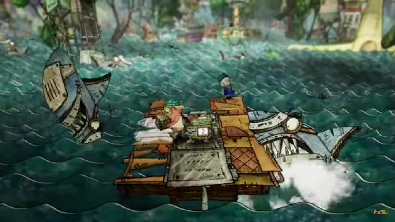 Trash Sailors Is A Strange Hand-Drawn Sailing Game Headed To Steam Later This Year
