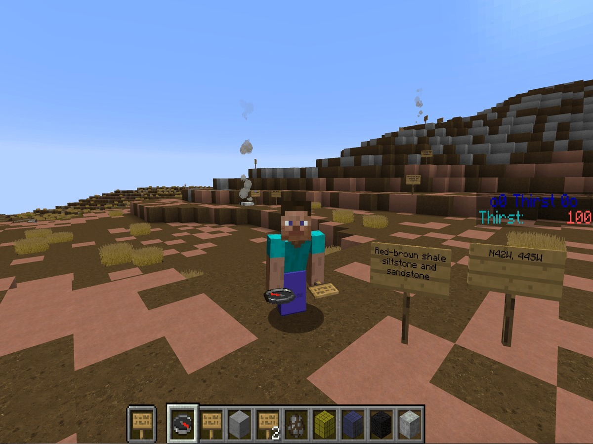 Geology Field Camp Cancelled? Professor Utilizes Minecraft To Give Students The Camp They Want!