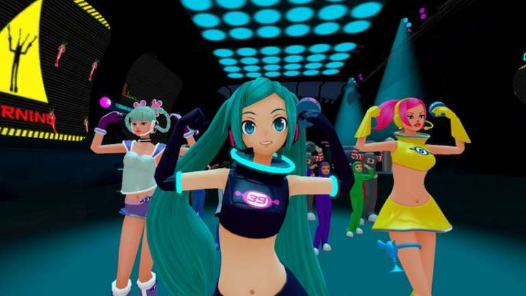 Hatsune Miku DLC Dances To Space Channel 5 VR: Kinda Funky News Flash! This July