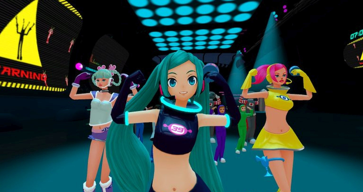 Hatsune Miku DLC Dances To Space Channel 5 VR: Kinda Funky News Flash! This July