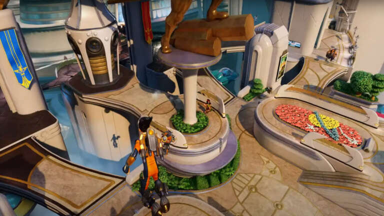 The Third-Person Shooter Rocket Arena Is Out Now And So Is A New Trailer