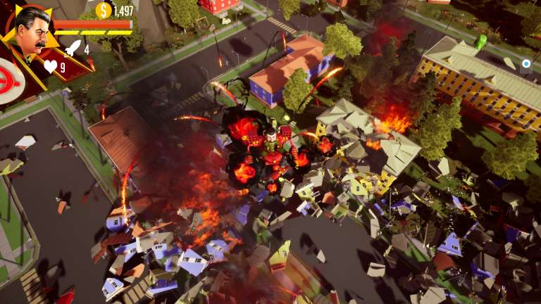 Kremlincorp Launches Steam Page For Upcoming Action Game Stalin Vs. Martians 4