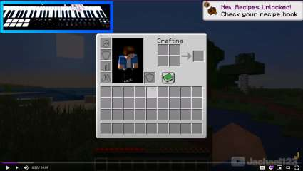 Jachael123 Has Beat Minecraft Using A Piano Instead Of The Standard Mouse and Keyboard!