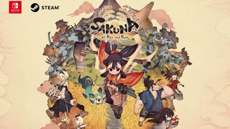 Sakuna: Of Rice And Ruin Celebrates Over 500,000 Units Sold Worldwide