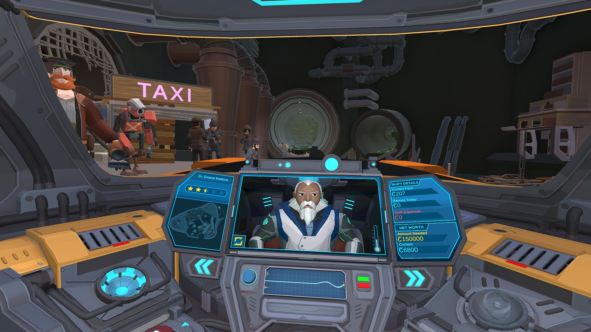 Experience The World As The Last Human Taxi Driver In An Automated Future In Q3 2020