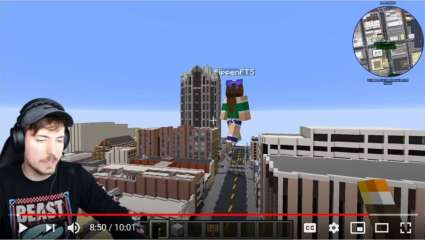 Famous YouTuber MrBeast Recreates His Hometown Of Raleigh, North Carolina In Minecraft