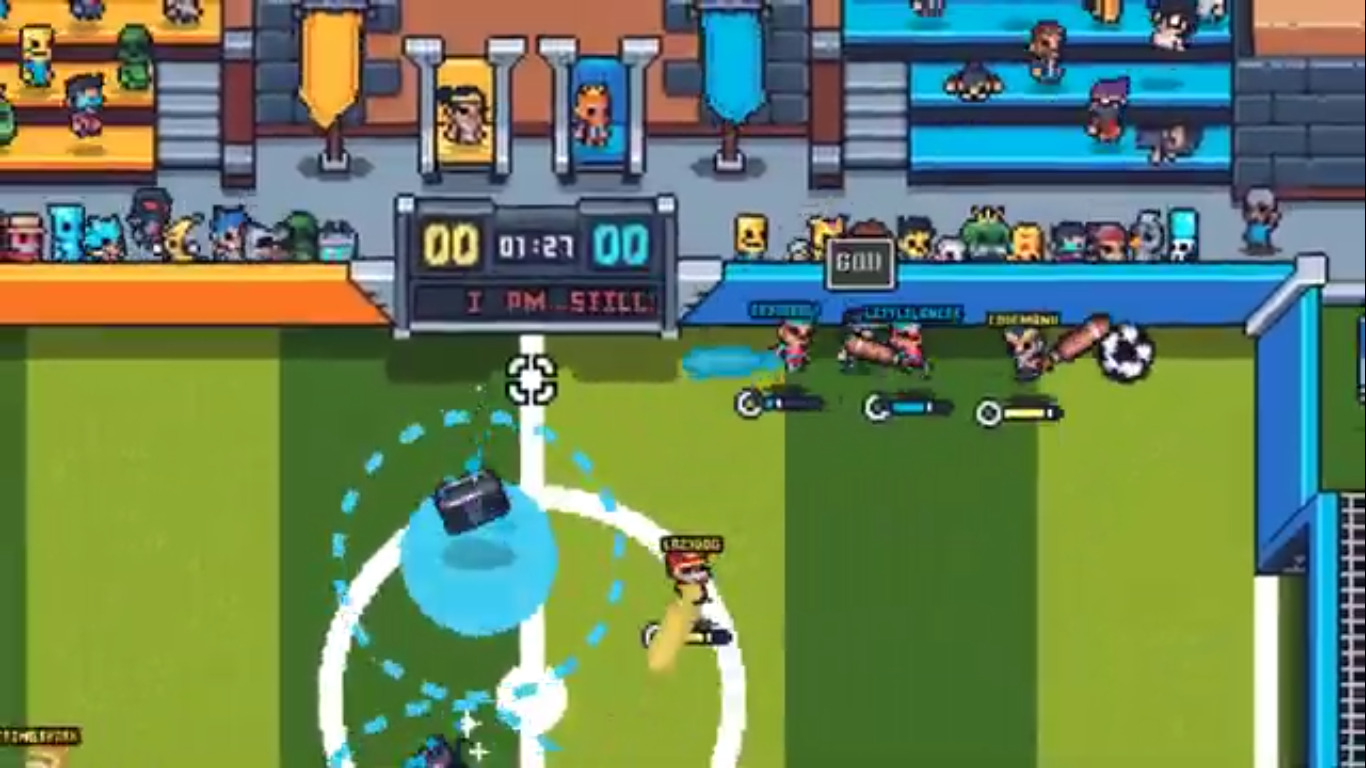 Guts 'N Goals Is A Free Football Experience That Has Launched Onto Steam, Experience Some Frantic Football Fun At No Expense