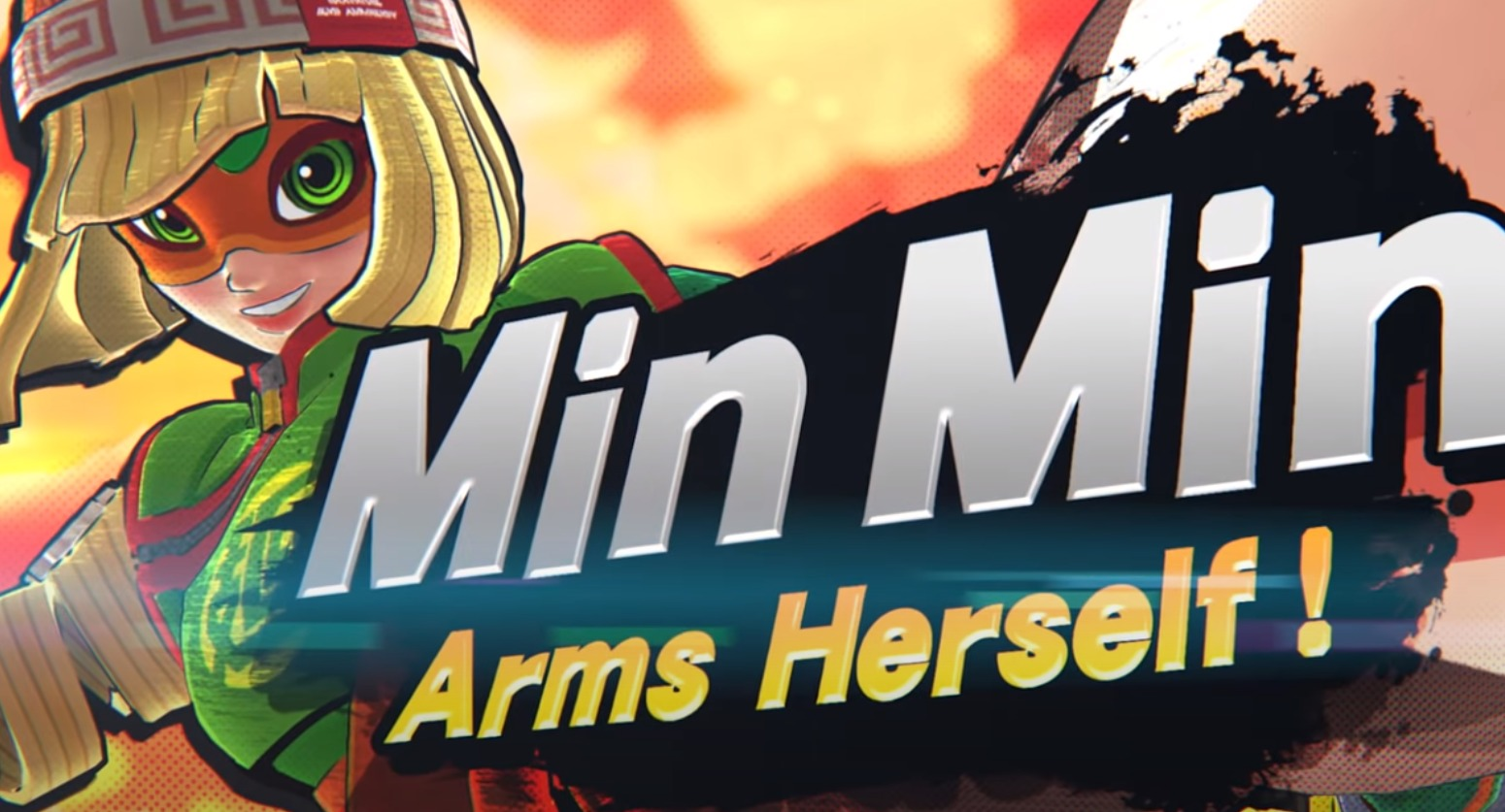 Min Min From ARMS Has Been Released As The Next Fighters Pass Character In Super Smash Bros. Ultimate