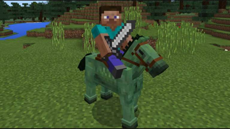 Minecraft Mobs Explored: The Zombie Horse, One Of The Fastest Ways Of Public Transportation