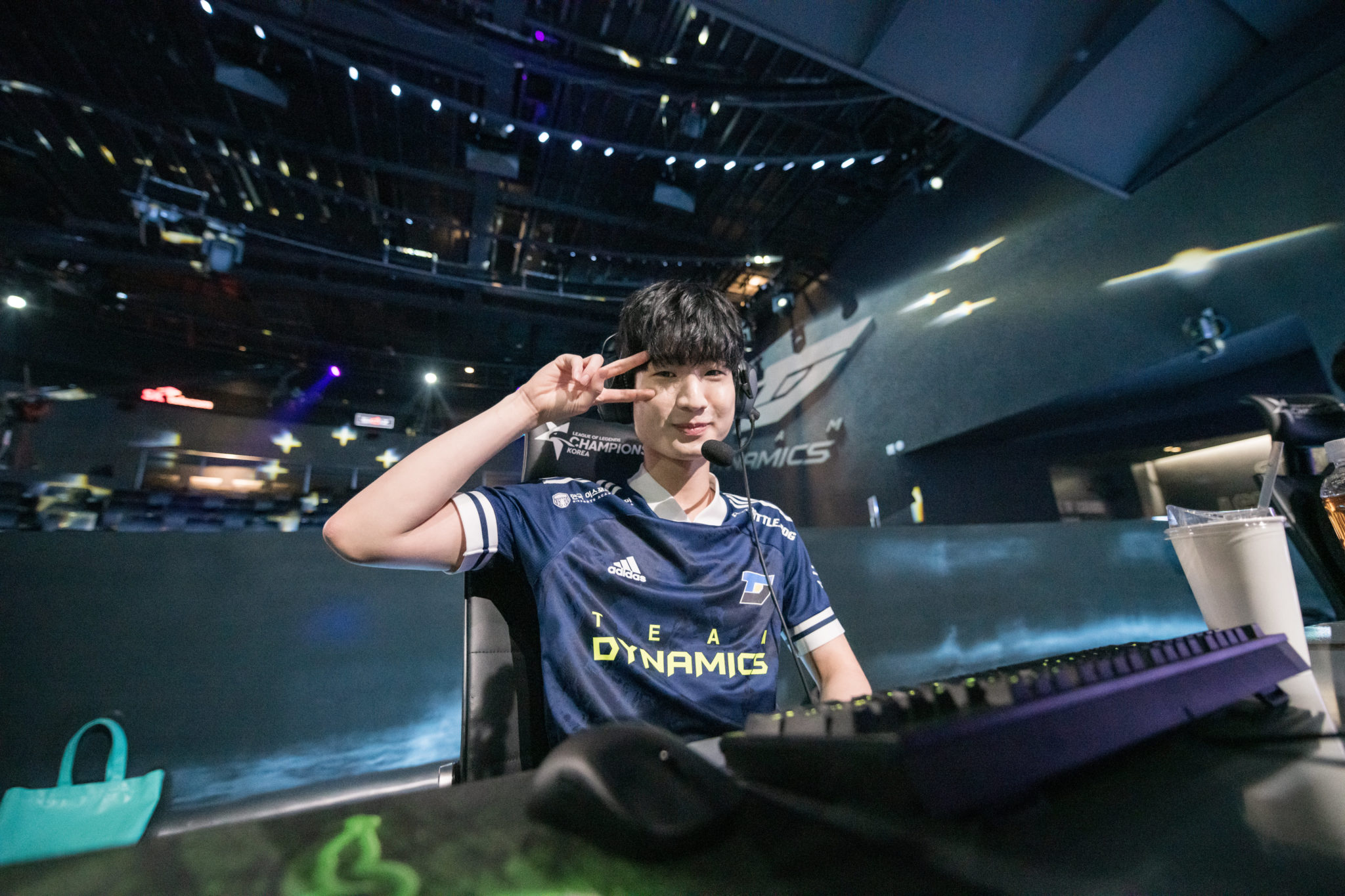 League Champions Korea's Team Dynamics Swept KT Rolster In Their First Ever LCK Match