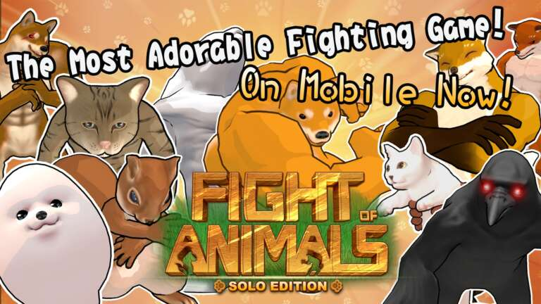 Meme Animal Brawler Game Fight Of Animals Now Available On Mobile As Solo Game