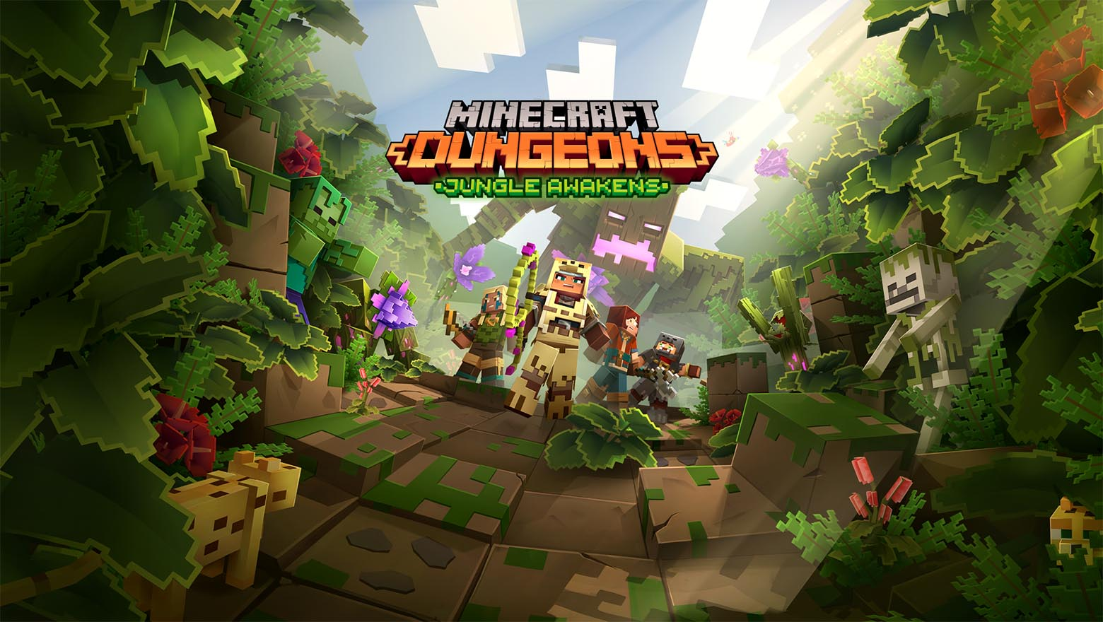Minecraft Dungeons Releases The Jungle Awakens DLC And Some Significant Changes