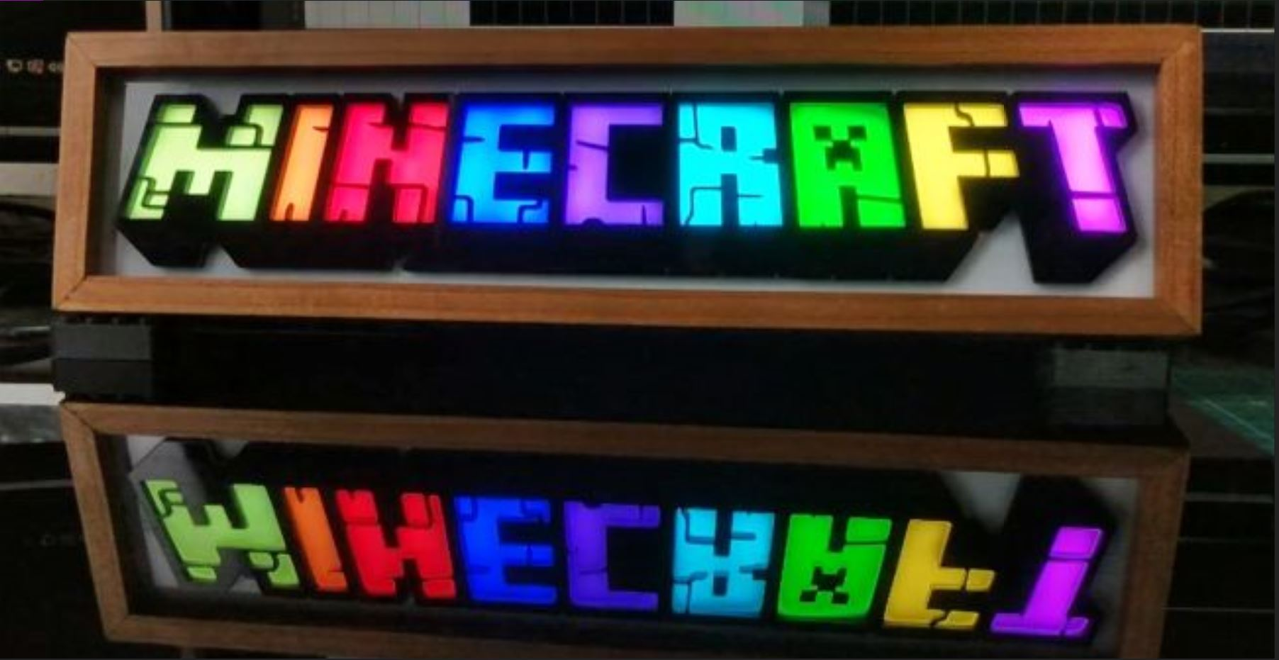 An RGB Minecraft Sign Which Lights Up When Friends Join Your Server: Utilizing A Raspberry Pi Zero