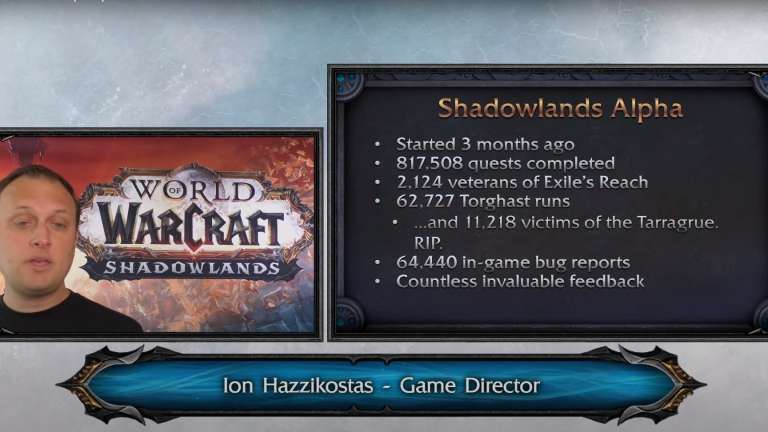 Blizzard Discusses The Recent World Of Warcraft: Shadowlands Alpha During Recent Developer Update