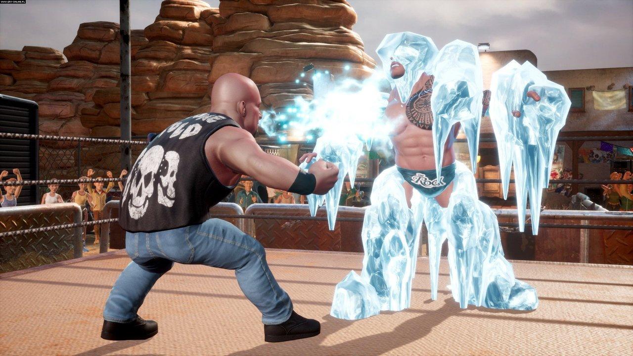 WWE 2K Battlegrounds Screenshots Reveal New Signature Moves, Legends, And Current Stars