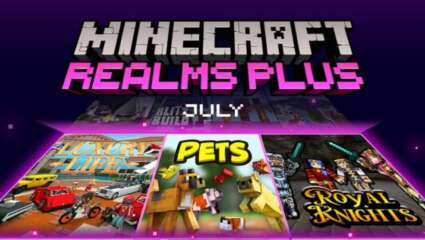 Minecraft Realms Plus July Update: Six New User-Created Creations Available For Users