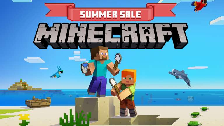 Minecraft's Marketplace Currently Has Its Summer Sale Which Offers Some Fantastic Discounts On Dozens Of Items