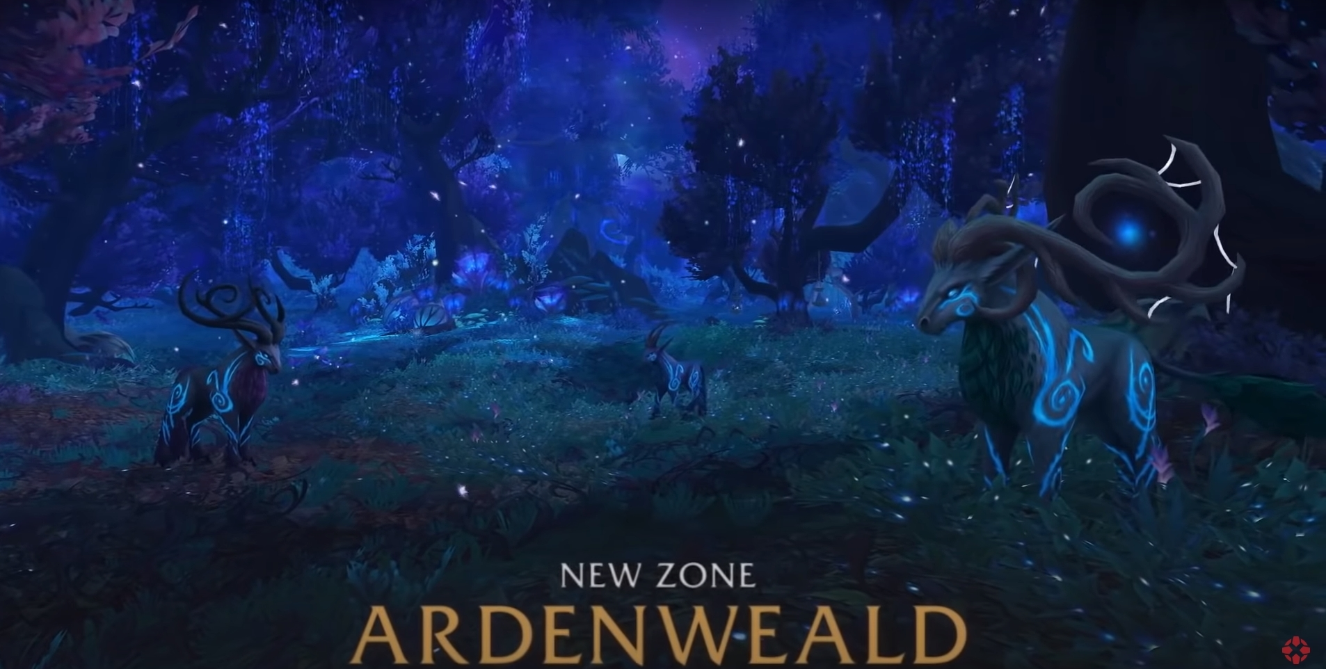 Shadowlands Sneak Peak: The Night Fae Amphitheater In World Of Warcraft: Shadowlands (Spoilers!)