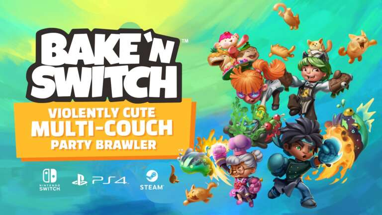 Streamline Games's Party Brawler Bake 'n Switch Announced For PC And Consoles