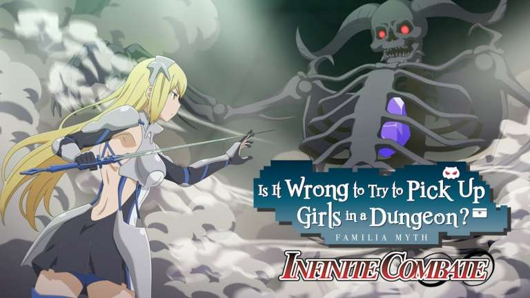 Is It Wrong to Try to Pick Up Girls in a Dungeon? Infinite Combate Launches In North America This August