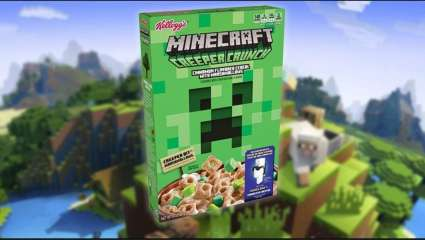 Kellogg Announces The Minecraft Creeper Crunch Cereal, Giving Players A Code For In-Game Clothes