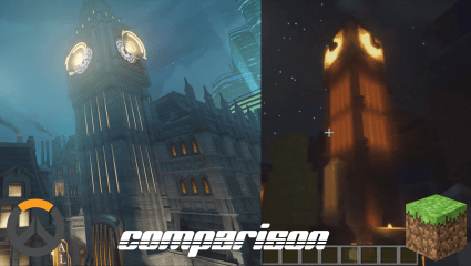 Overwatch's King's Row Has Been Recreated In Minecraft: Anyone Up For A Quick Match?