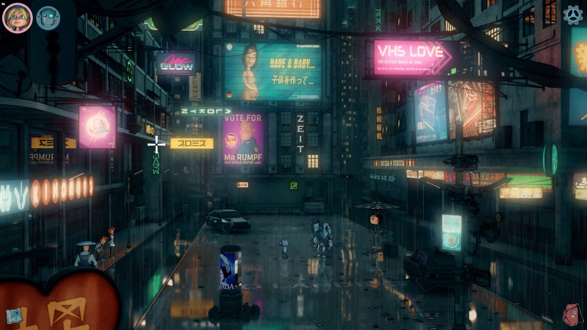 New Details Released For Upcoming Cyberpunk Point-and-Click Adventure Game Encodya