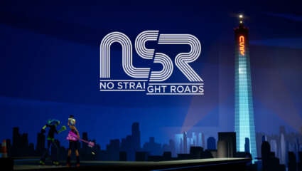 What Is No Straight Roads? Action-Adventure Game Where An Indie Rock Duo Take Down EDM